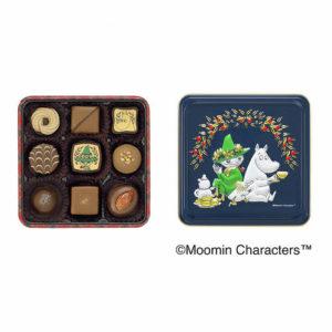 アソーテッドチョコレート(ムーミンとスナフキン)