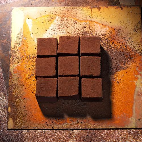 カカオ生チョコレート エクアドル&カメルーン ミルク
