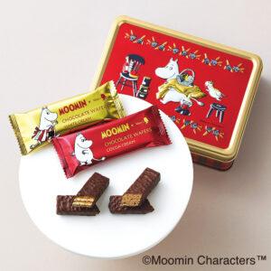 【高島屋オリジナル】チョコレートウエハース 12個入×2缶セット