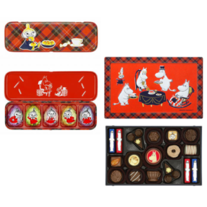 アソーテッドチョコレート(リビング)・リトルミイチョコレート (各1缶・計2缶セット)
