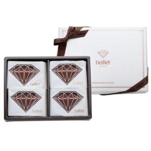 ダイヤモンドフォンダンショコラ4個入