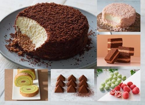 とろけるショコラの選べるケーキセット